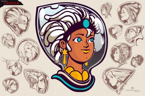 15 Tannia Faces